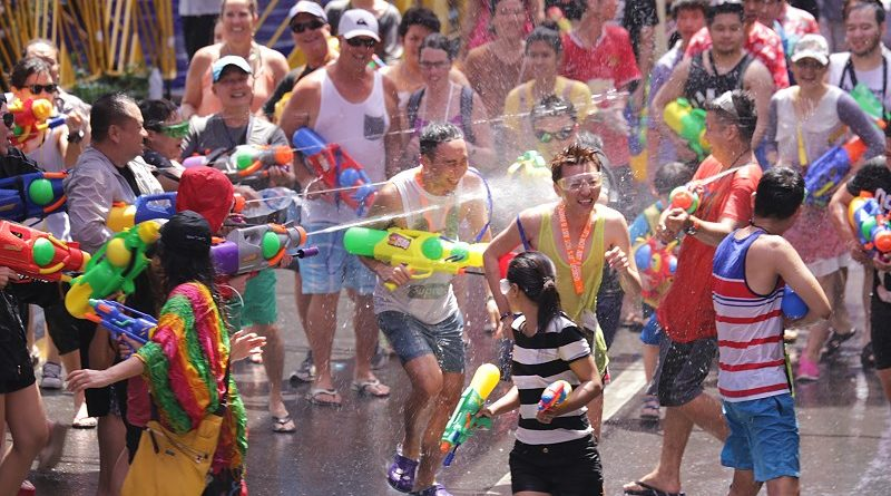 Songkran Festival (source Thai Travel Blogs)
