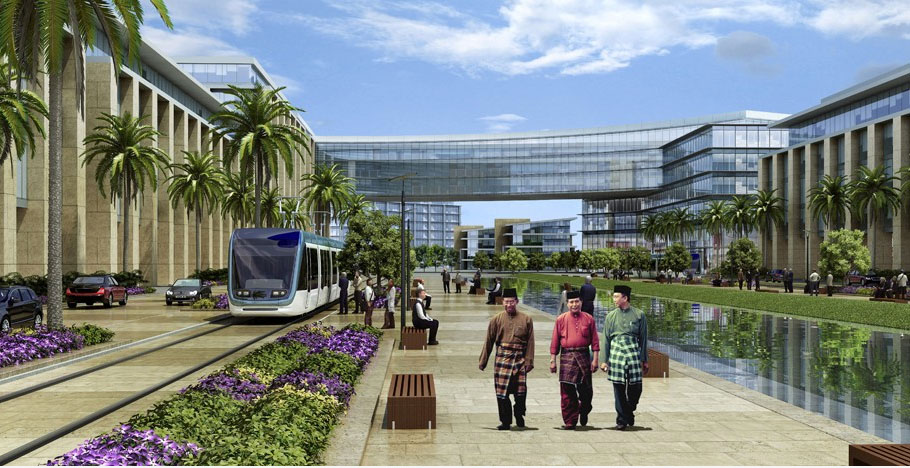 A City In The Garden For Brunei Seasia Co