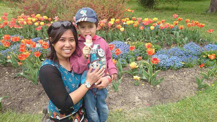 Widya with her son © Widya's Personal Collection