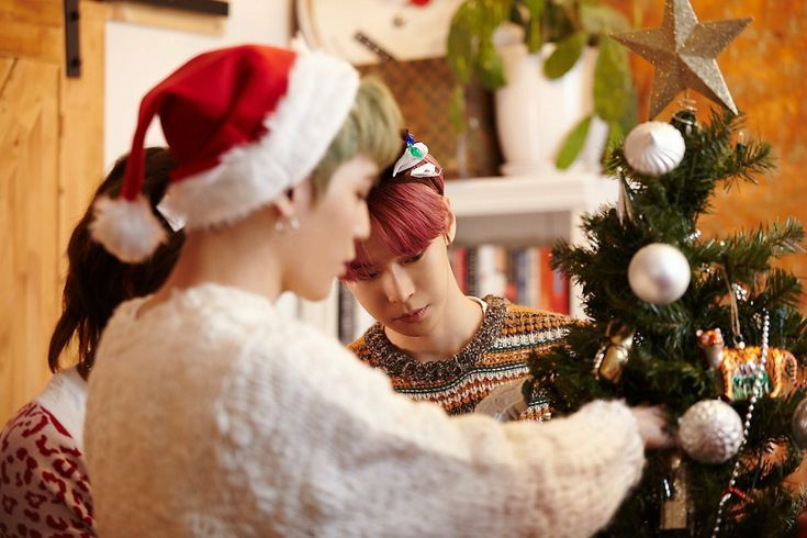 Decorate a christmas tree (© NCT Daily)