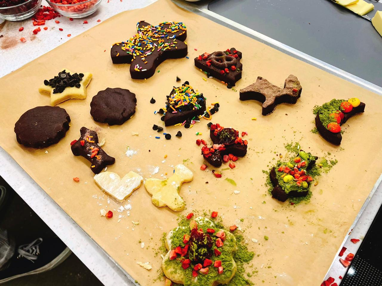 christmas cookies (© Johnny's Communication Center NCT Daily)