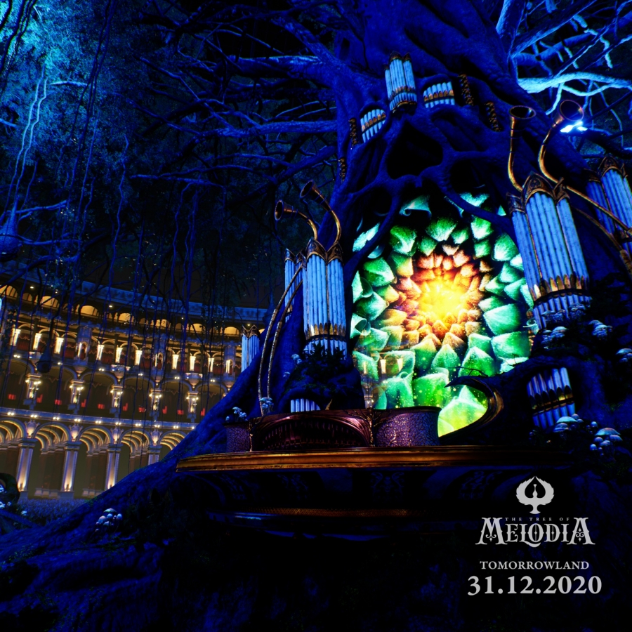 Tomorrow Land stage concept 2020 /