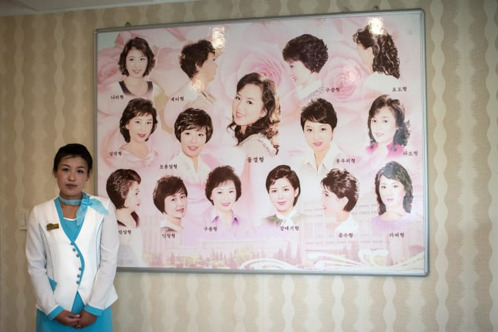 Hairstyle Acceptance for women in North Korea / cnn.com