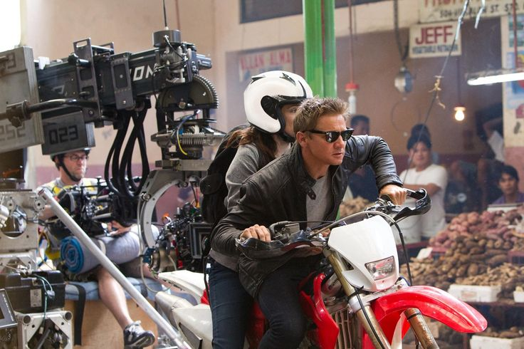 Behind the Scenes of Bourne Legacy | https://www.pinterest.com