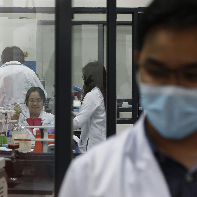 Philippines receives new testing kits, prioritises pneumonia patients. Image: South China Morning Post