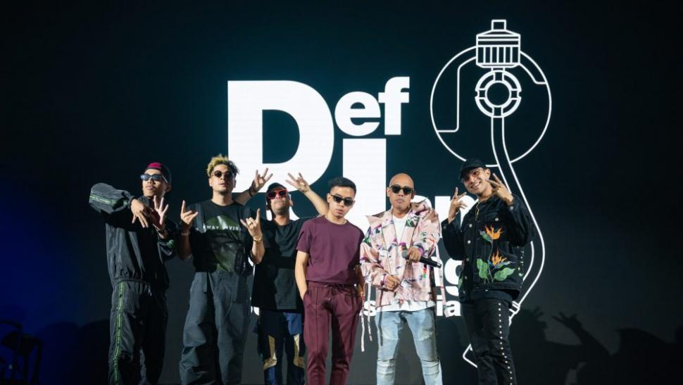 Southeast Asian new artists who were recently signed by hip-hop label Def Jam. Image: Universal Music Studio