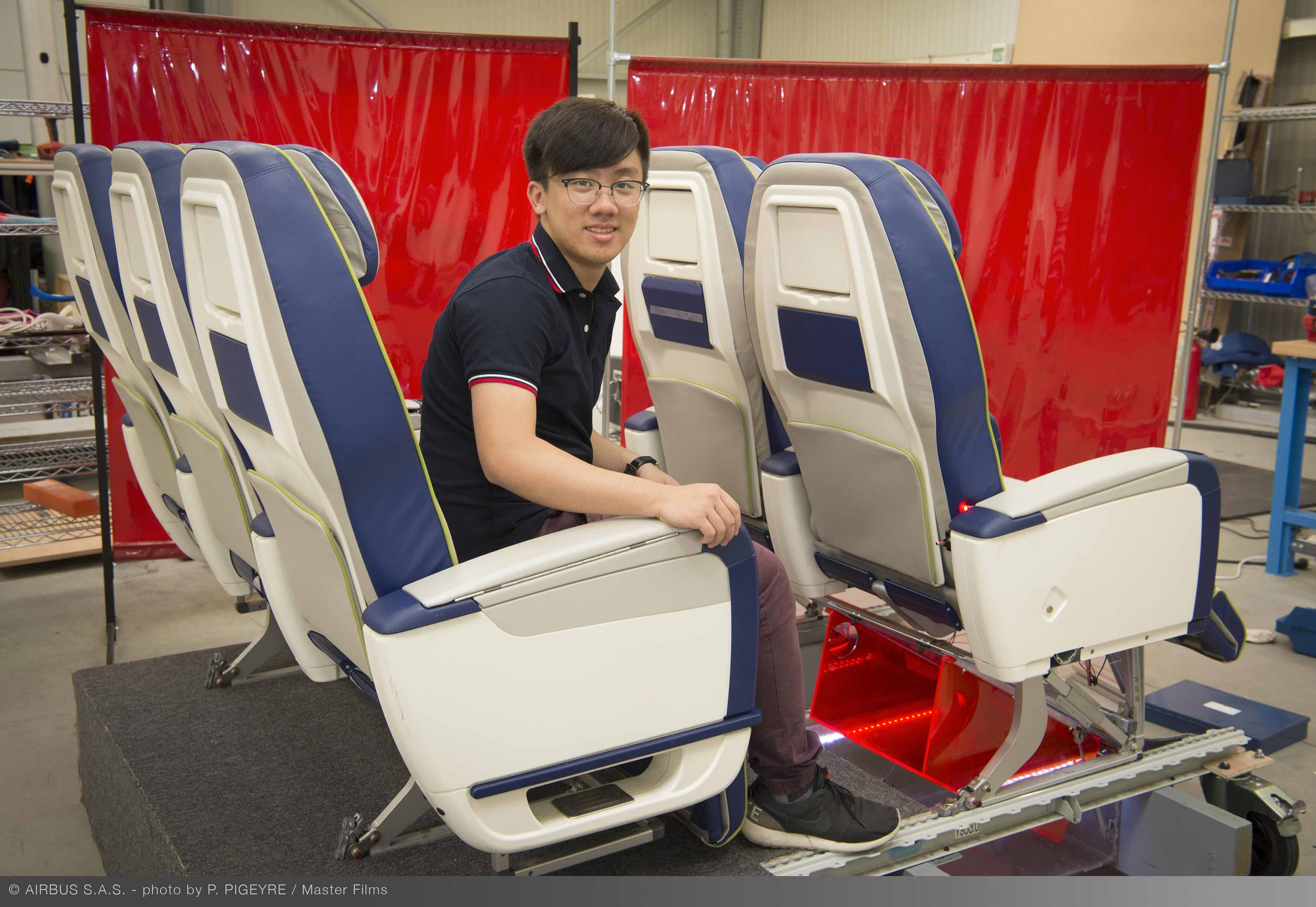 Airbus Fly Your Ideas 2017 Winners: Team DAELead from The University of Hong Kong. Image: Airbus