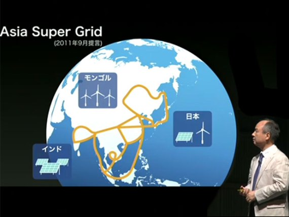 Asia Super Grid. Source: Clean Technica