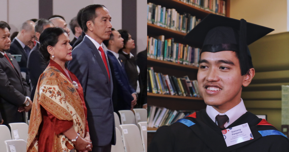 The Singapore University of Social Sciences (SUSS) hosted not one but two Presidents during its Convocation ceremony on Oct. 9. Image: Mothership.sg