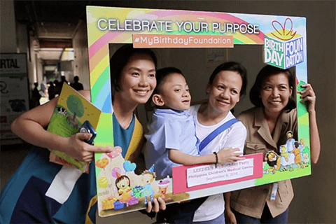 MyBirthday Foundation activities. Image: Our Better World