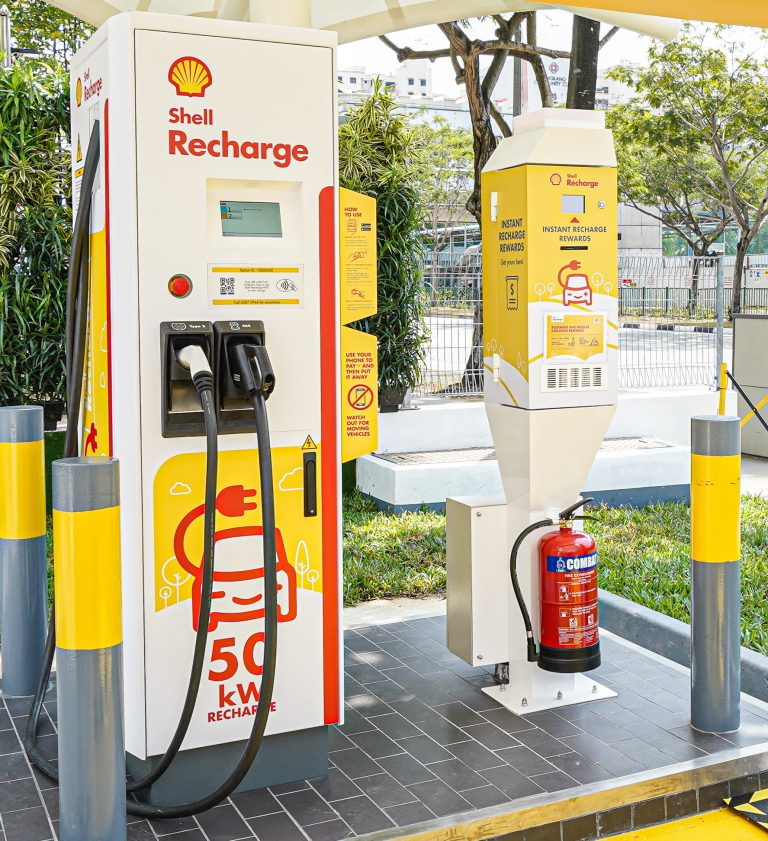 Shell Recharge Sengkang, Singapore. Image: Shell/Vulcan Post