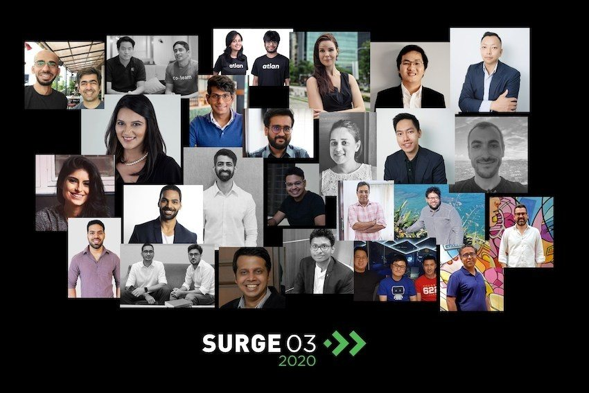 Founders in Surge 03. Image: Sequoia