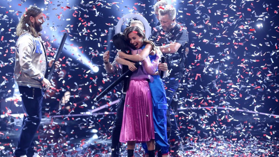 Claudia Emmanuela Santoso won at the Voice of Germany. Image: Vivanews.com