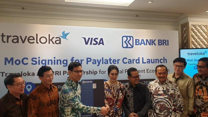 MoC Signing for PayLater Credit Launch. Image: Tribunnews.com