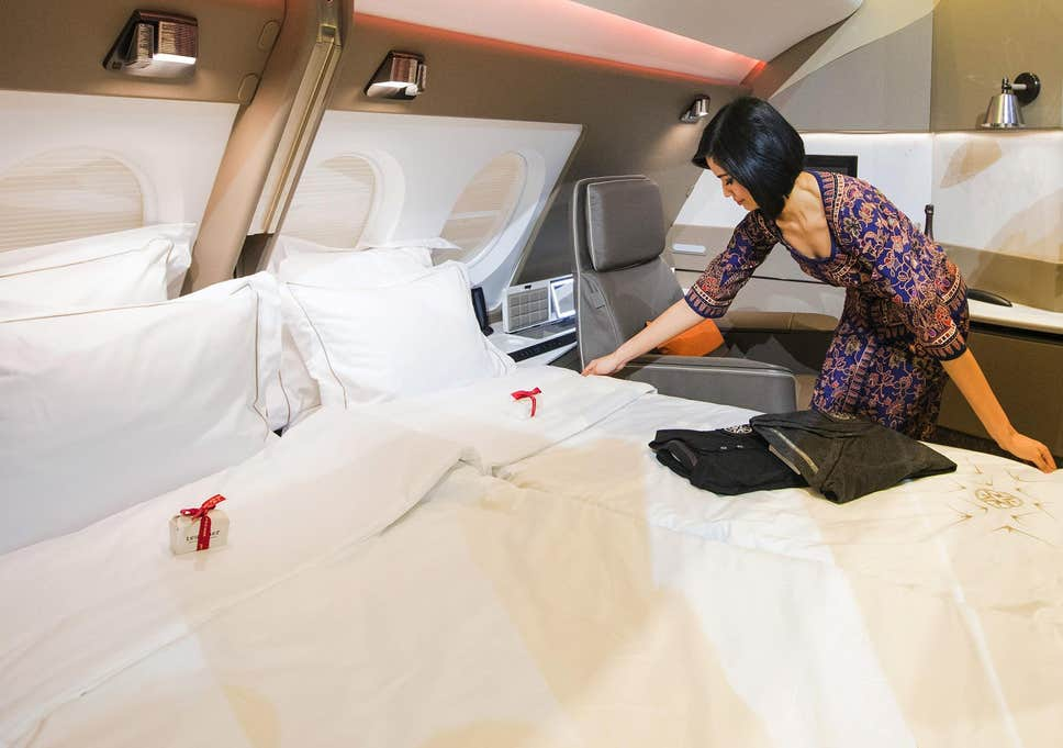 Singapore Airlines new A380 First Class. Image: Singapore Airlines