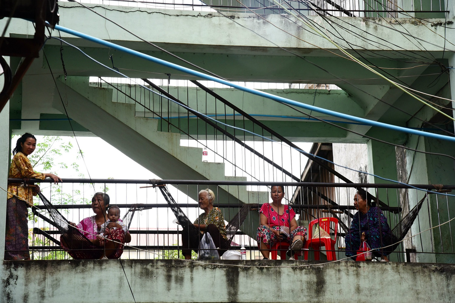 An estimated 140,000 people are living in more than 500 slums across Phnom Penh.