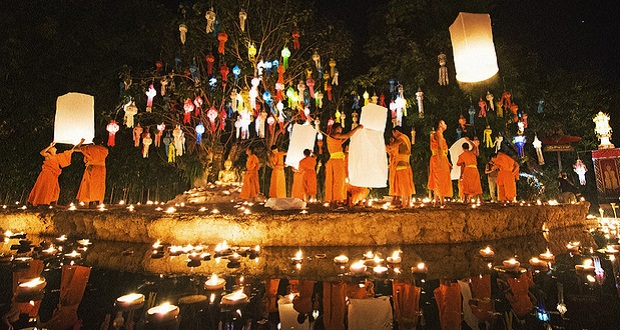 Calm, quite, and beauty. Chiang Mai has its best ( ©newyearseveblog.com)