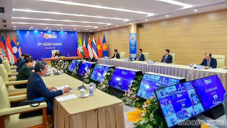 Panorama of the 37th ASEAN Summit plenary session (Source: baoquocte.vn)
